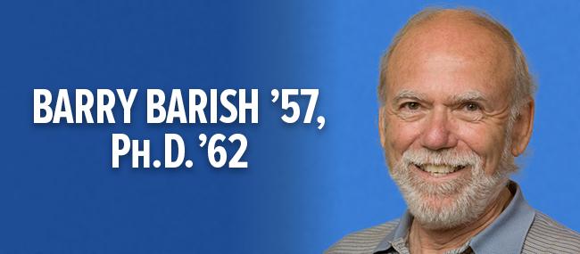 Alumnus awarded 2017 Nobel Prize in Physics