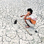 Climate change causing suicides in India as crops fail